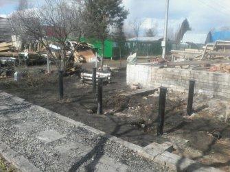 Восстановление разрушенной части фундамента после пожара