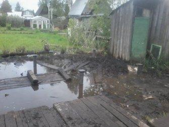 Фундамент для бани 6х3 на винтовых сваях в Череповце