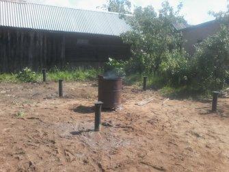 Фундамент на винтовых сваях под баню 6х3
