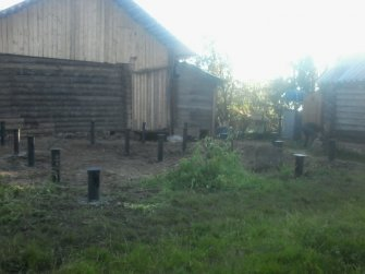 Свайный фундамент под дом из бруса 6х8