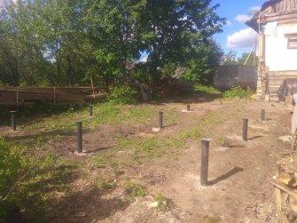 Фундамент под каркасный дом 6х9 цена 37200 рублей