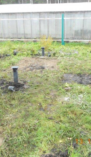 Фундамент под сруб рубленой бани 5х3 на винтовых сваях