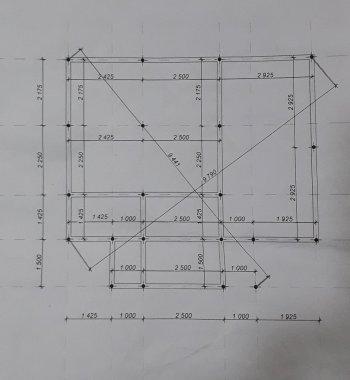 Проект винтового фундамента под дом из бруса 8х6