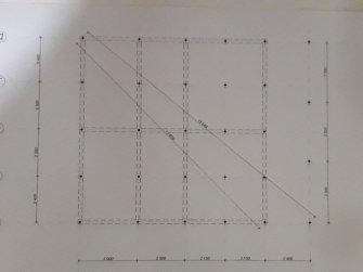 Схема свайного фундамента 10 на 10