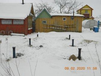 Недорогой фундамент для бани 6 на 3 в Череповце